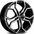 FONDMETAL 9XR 9-20(5-120)et45 74.1 Black Polished (9XR J9020455120LNA2)