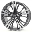 OZ Cortina 9.5-20(5-112)et40 79 Matt Dark Graphite Diamond Cut (W0188320049) d-XL